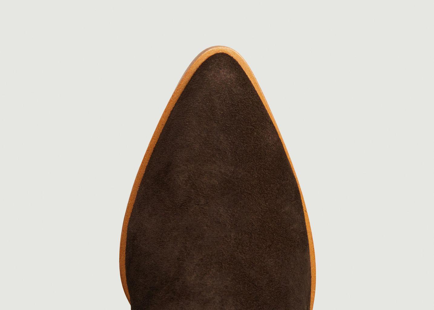 Bottines en cuir suédé Ecope - Avril Gau