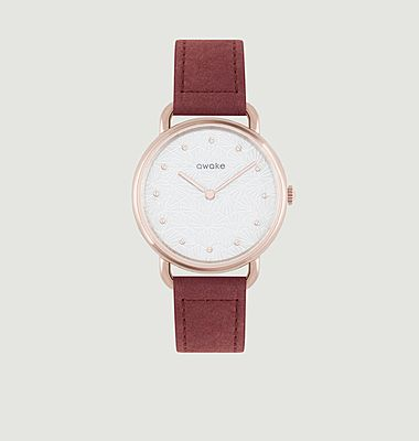 Odyssée watch with cellulose bracelet