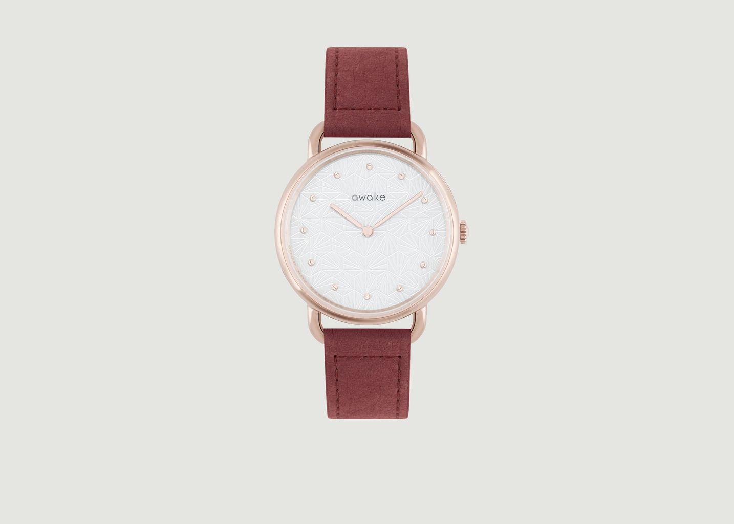 Montre avec bracelet cellulose Odyssée - Awake Concept