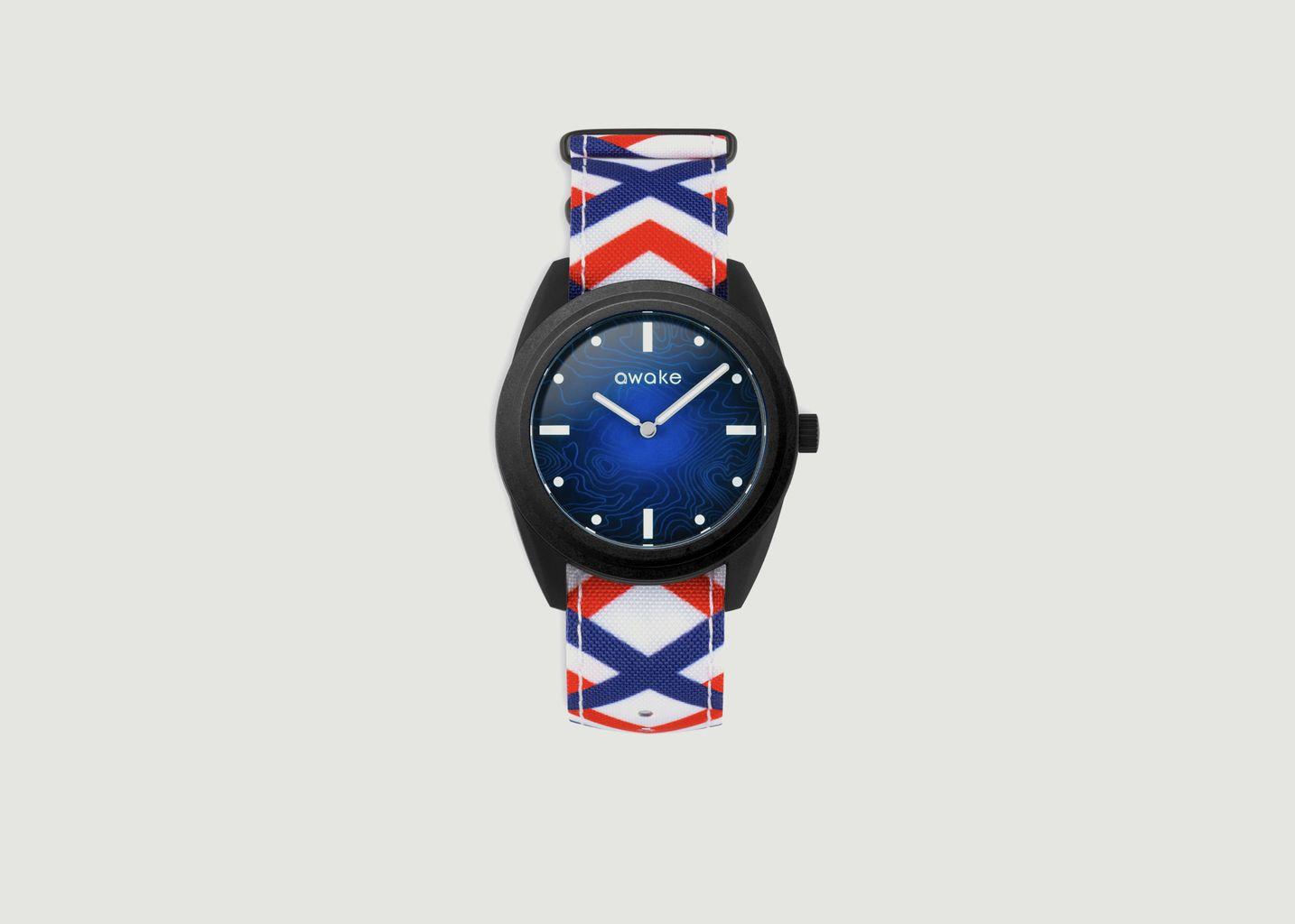 Montre La Bleue Nato Tricolore - Awake Concept