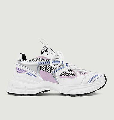 Sneakers de running en cuir et mesh Marathon