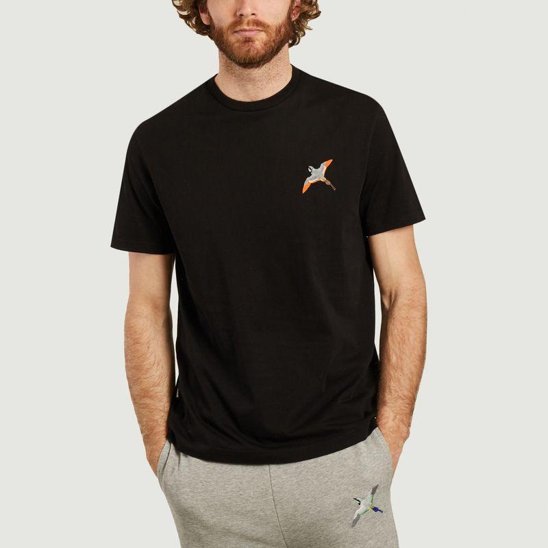 T-shirt broderie oiseau  - Axel Arigato