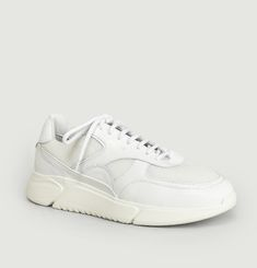 Genesis Leather And Mesh Sneakers