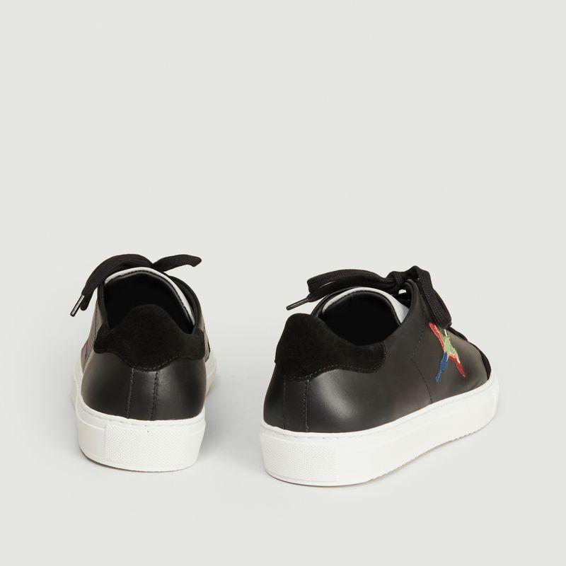 Sneakers Clean 90 oiseaux brodés - Axel Arigato