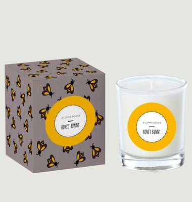 Honey Bunny Candle