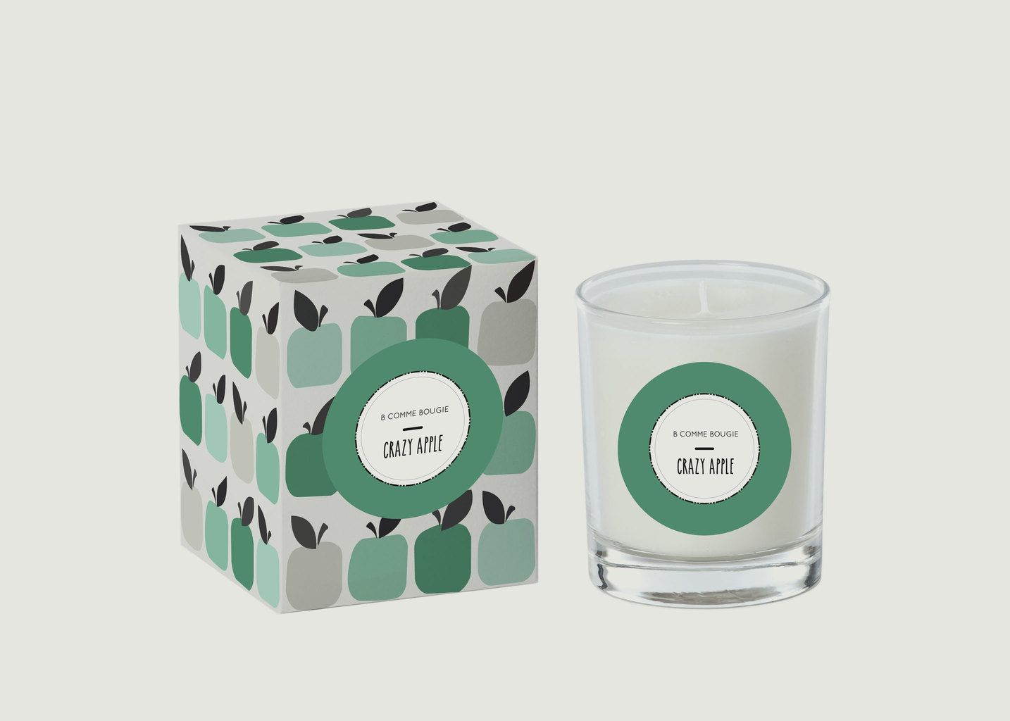 Bougie Crazy Apple - B comme Bougie