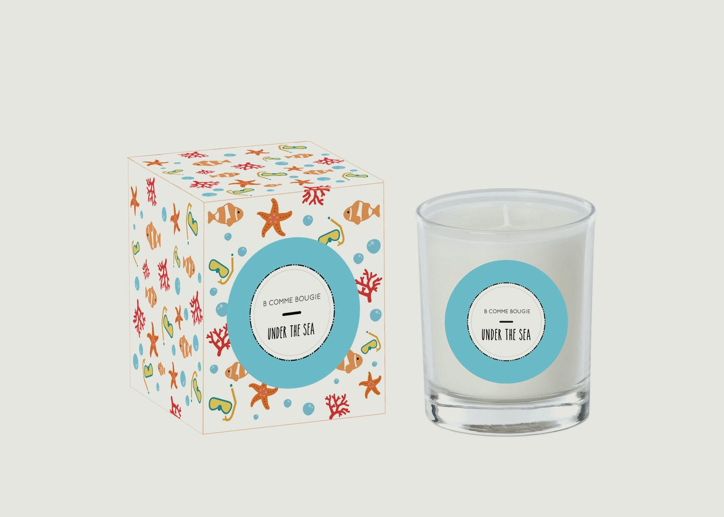 Bougie Under The Sea - B comme Bougie