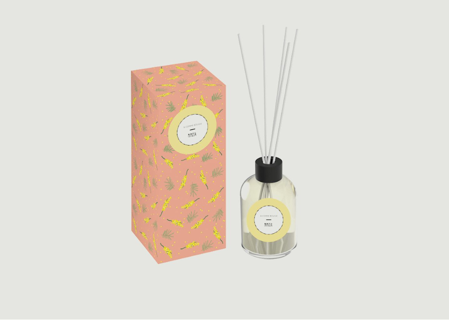 Diffuseur A Bâtons Mimosa - B comme Bougie