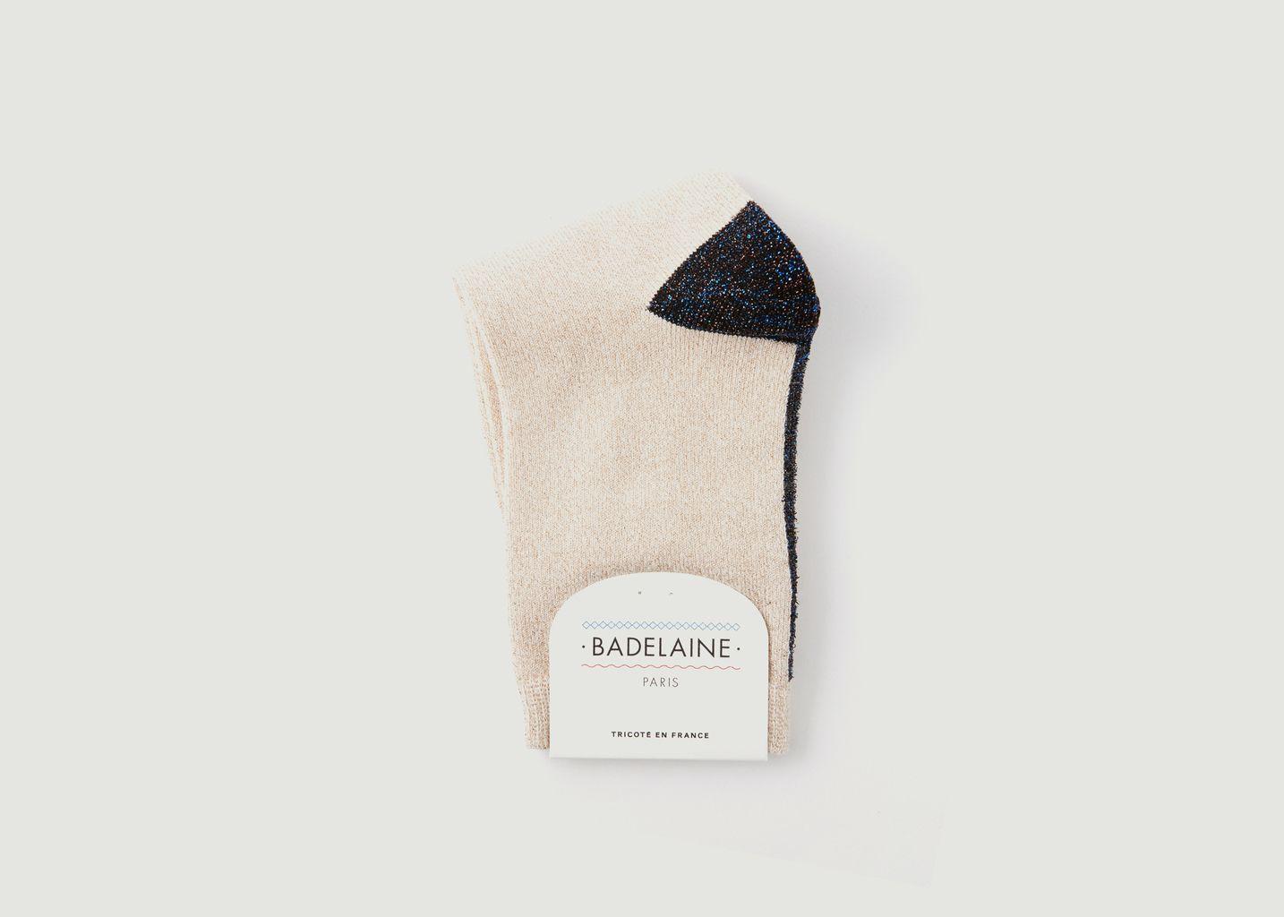 Chaussettes Avec Lurex Couture - Badelaine