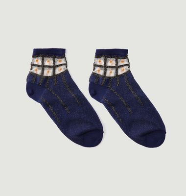 Domino Ankle Socks