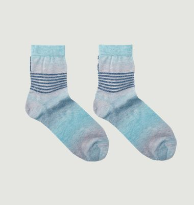 Chaussette Tie And Dye Borealis