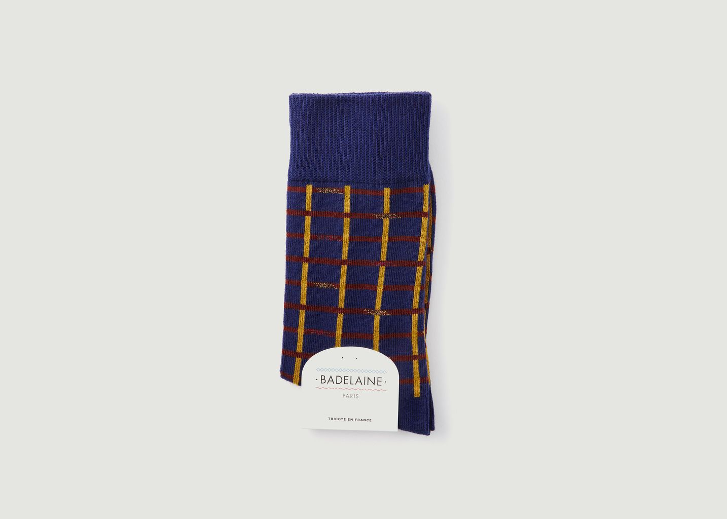 Chaussette A Carreaux Marno - Badelaine