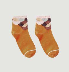 Lurex Mermaid Socks