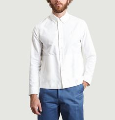 Embroidered Untucked Shirt