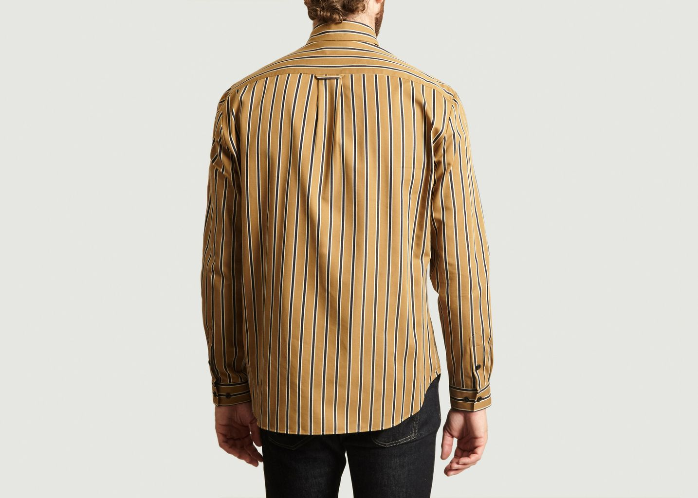 Chemise Rayée A Poche - Band Of Outsiders