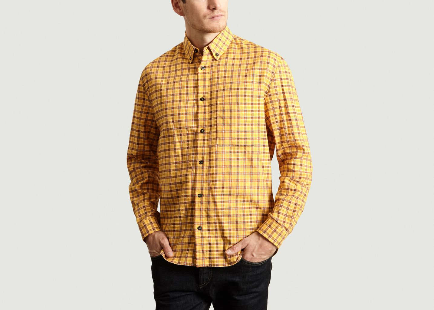 Chemise Multi Check à Rayures - Band Of Outsiders