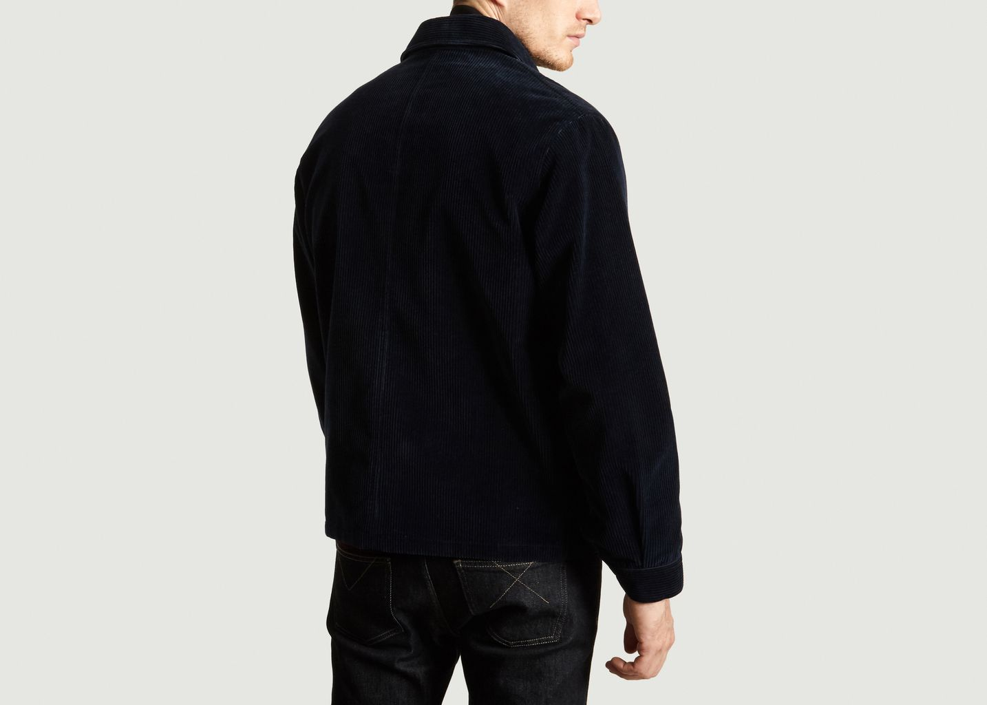 Blouson Medium Cord en Velours Côtelé - Band Of Outsiders