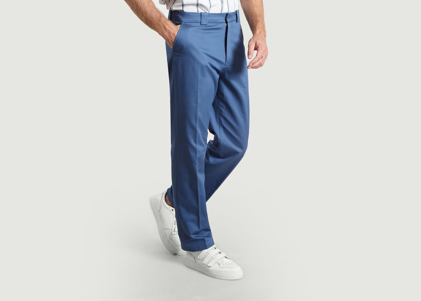 Workwear Trousers Blue - Band Of Outsiders