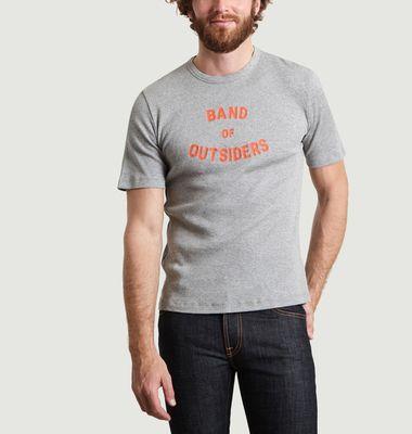T-Shirt Logo Band Imprimé