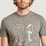 matière T-shirt Riso Dude Band Of Outsiders x Amit  - Band Of Outsiders