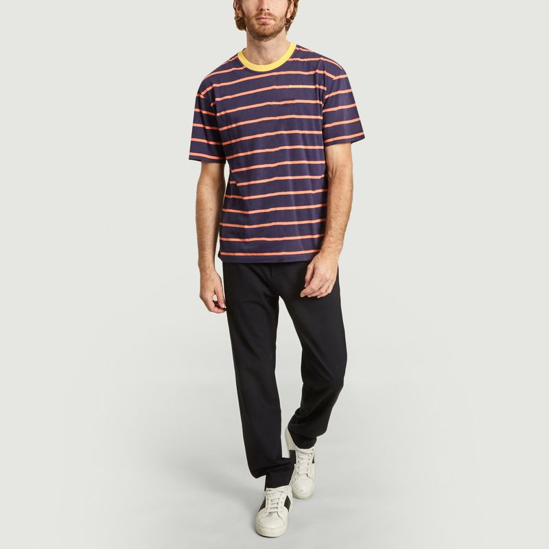 T-shirt rayé oversize - Band Of Outsiders