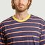 matière T-shirt rayé oversize - Band Of Outsiders