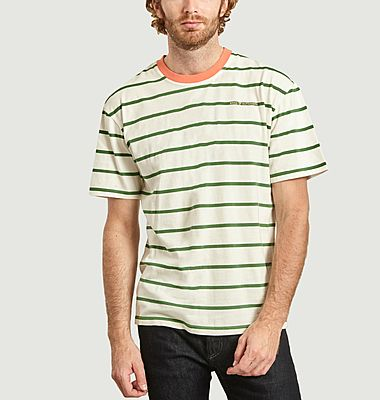 T-shirt rayé oversize