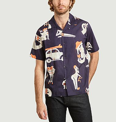 Chemise imprimée Band Of Outsiders x Amit