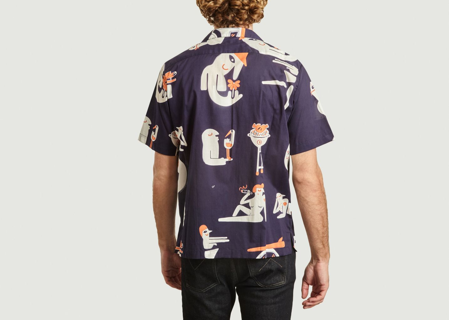 Chemise imprimée Band Of Outsiders x Amit  - Band Of Outsiders