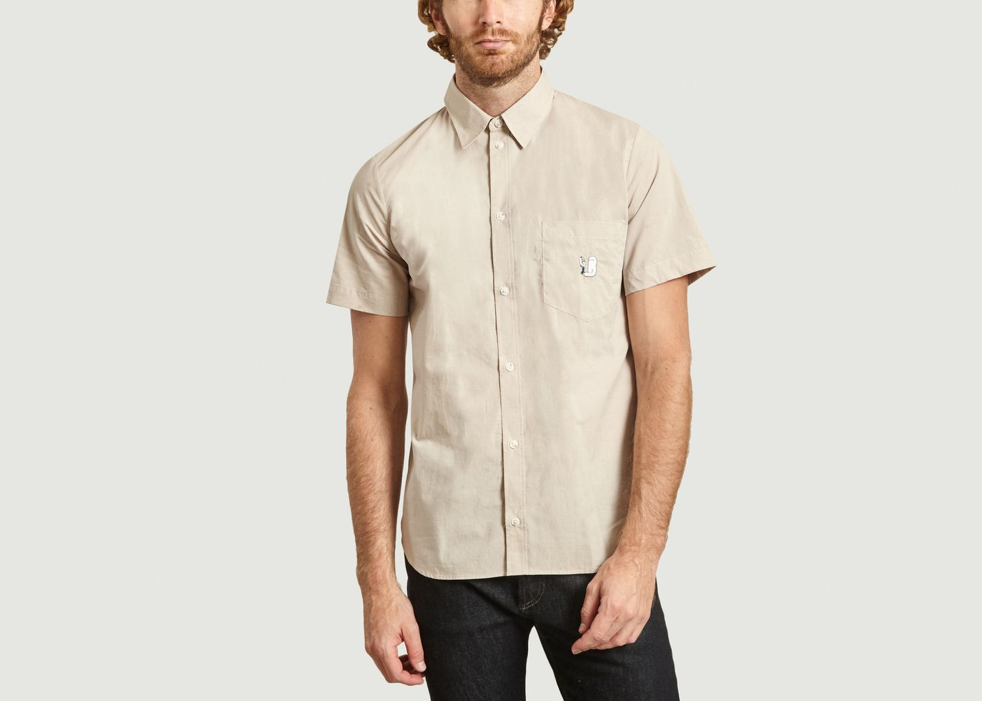Chemise washed Band Of Outsiders x Amit  - Band Of Outsiders