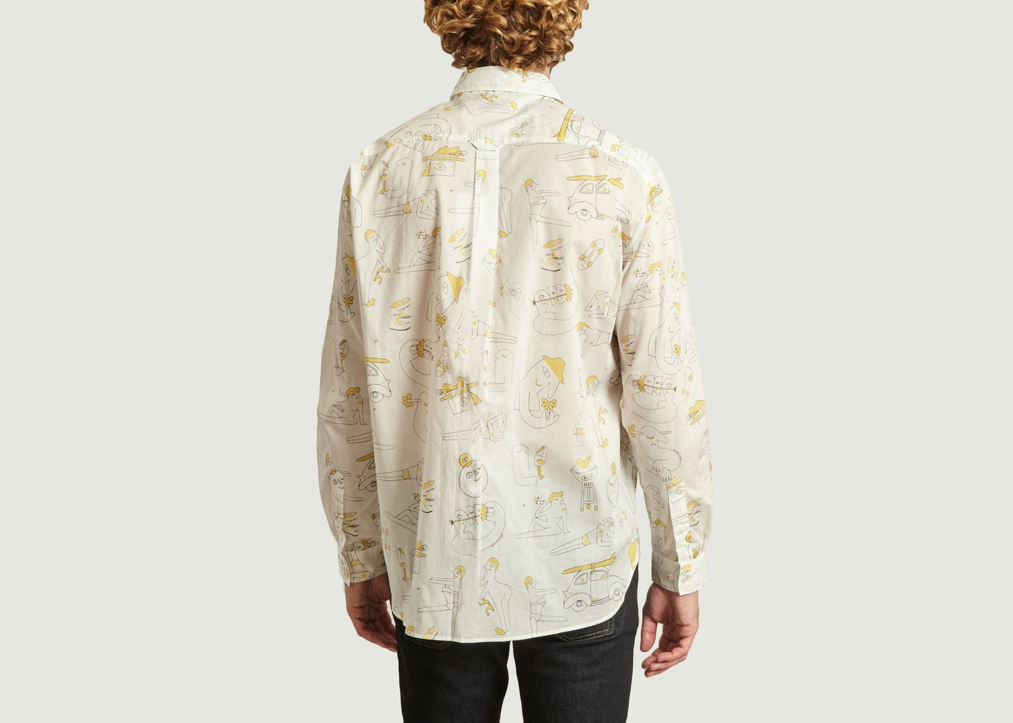 Chemise à imprimé abstrait Band Of Outsiders x Amit  - Band Of Outsiders