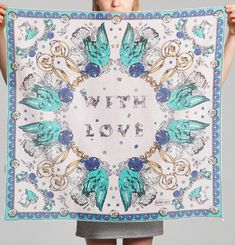 With Love Scarf