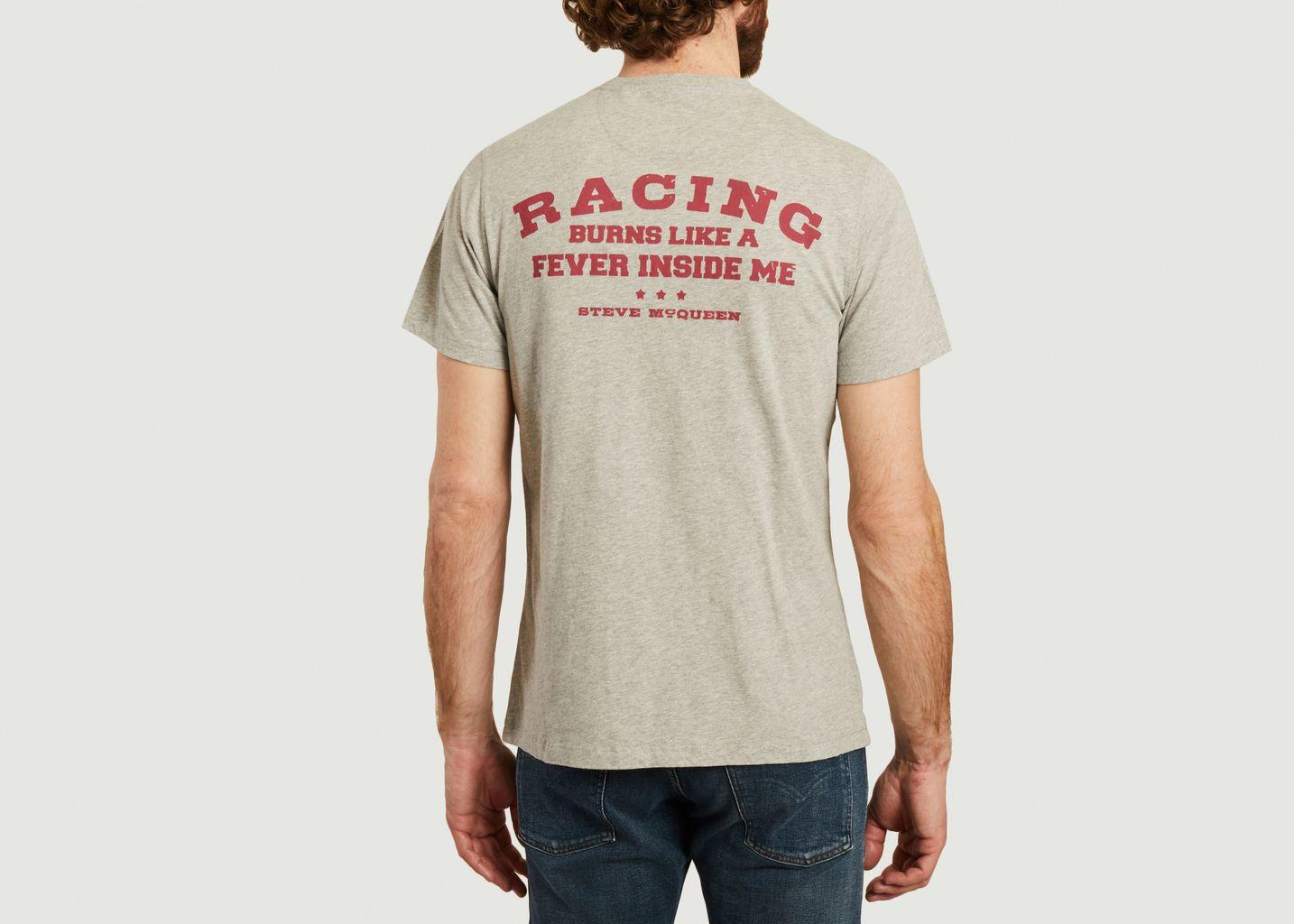 T-shirt Steve McQueen imprimé moto - Barbour International