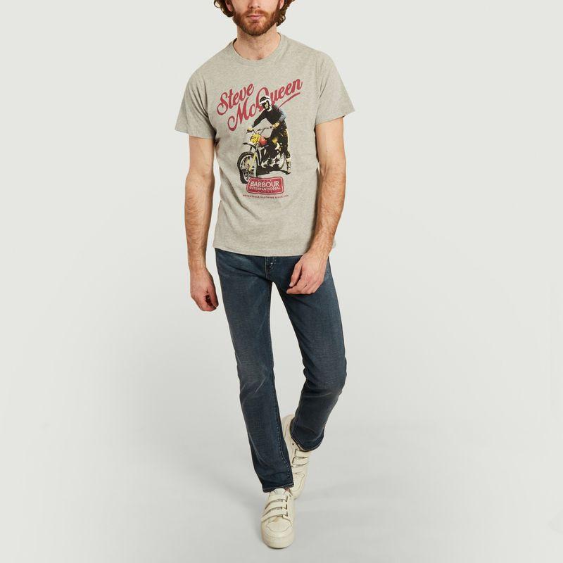 McQueen print t-shirt  - Barbour International