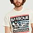 matière Steve Mcqueen usa flag t-shirt  - Barbour International