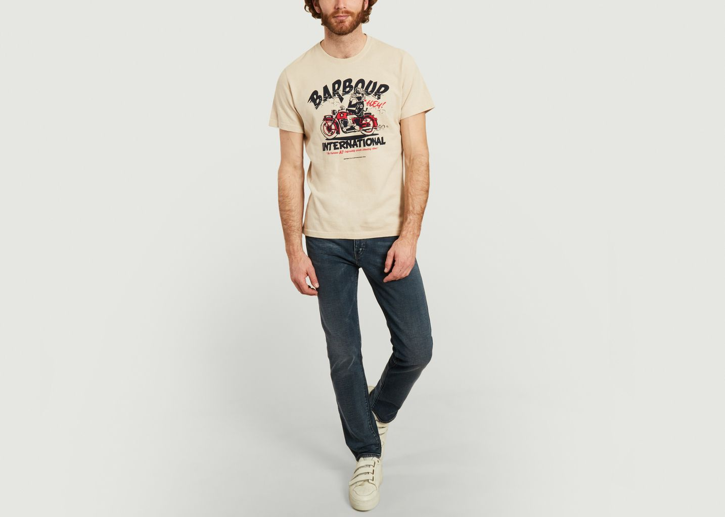 Motorbike t-shirt  - Barbour International