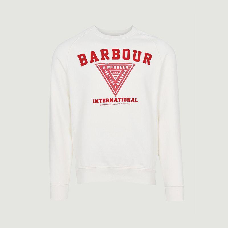 Sweat Vintage Print - Barbour International