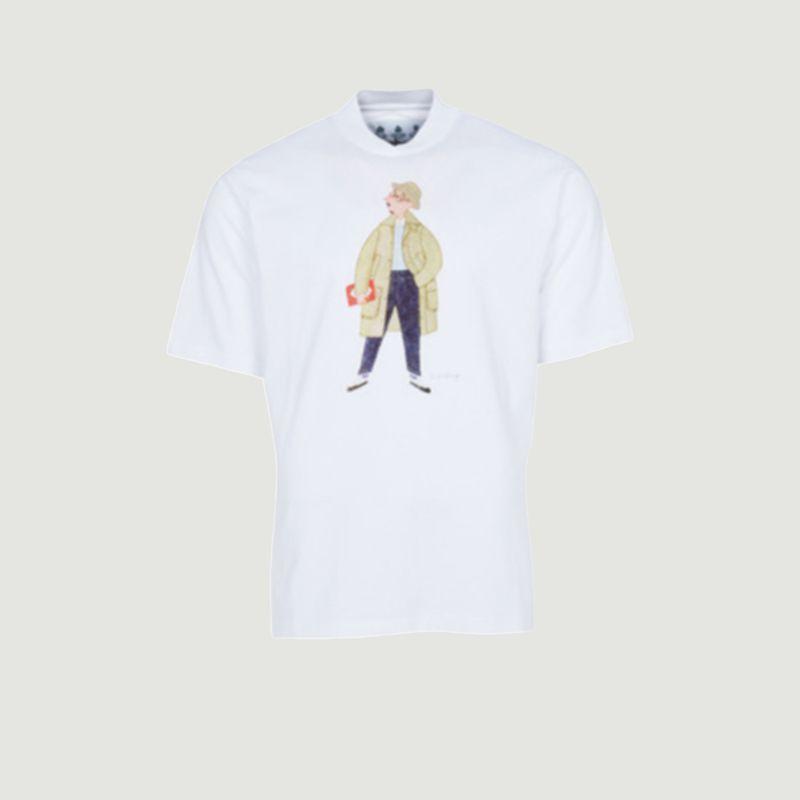 T-shirt label slowboy - Barbour