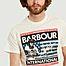 matière T-shirt Steve McQueen drapeau des états-unis - Barbour