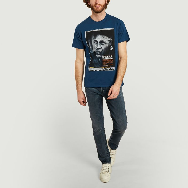 Movie poster t-shirt  - Barbour