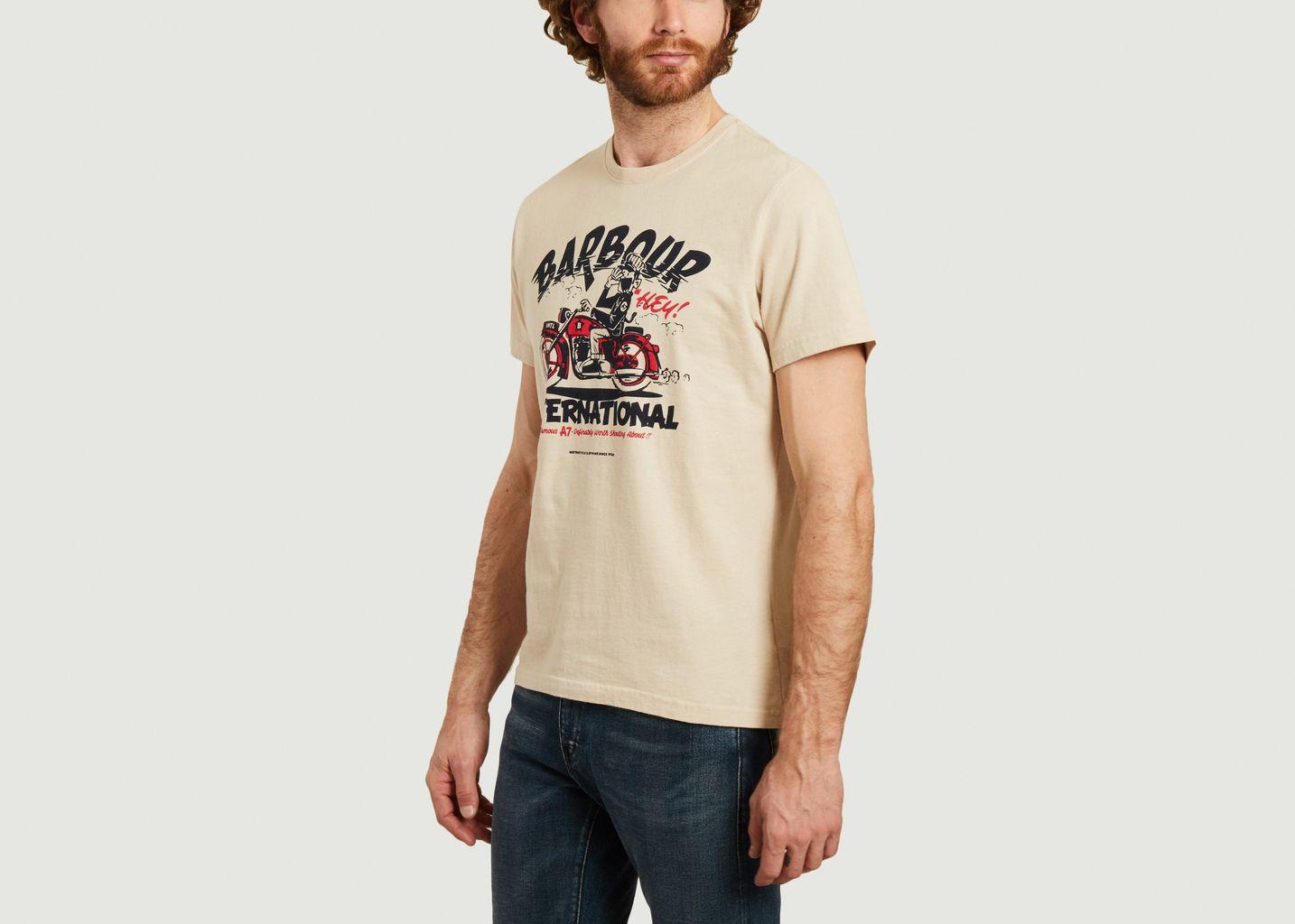 Motorbike t-shirt  - Barbour