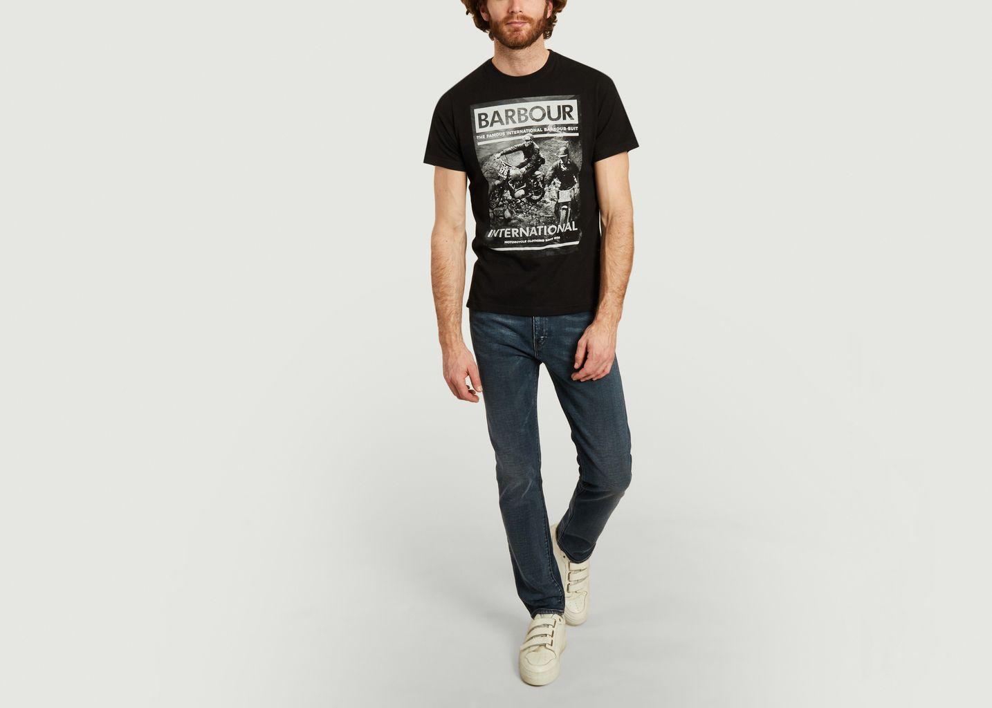 Race t-shirt  - Barbour