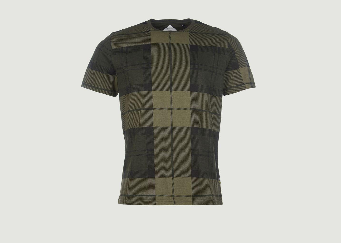T-shirt Tartan Beacon - Barbour