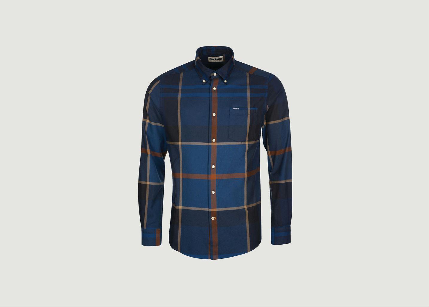 Chemise ajustée motif tartan Dunoon - Barbour