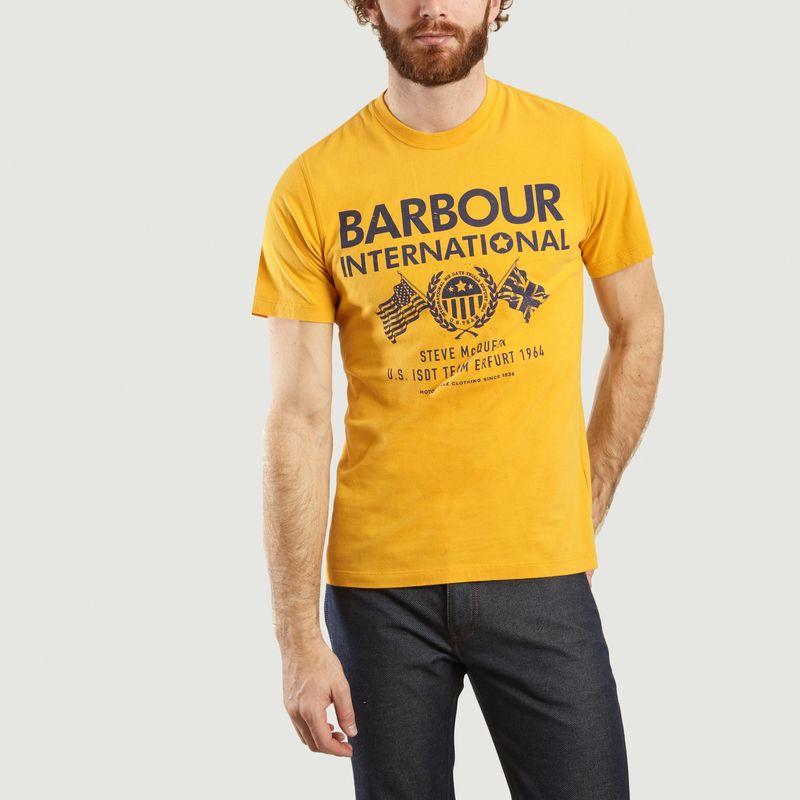 T-shirt siglé Steve Mc Queen race - Barbour