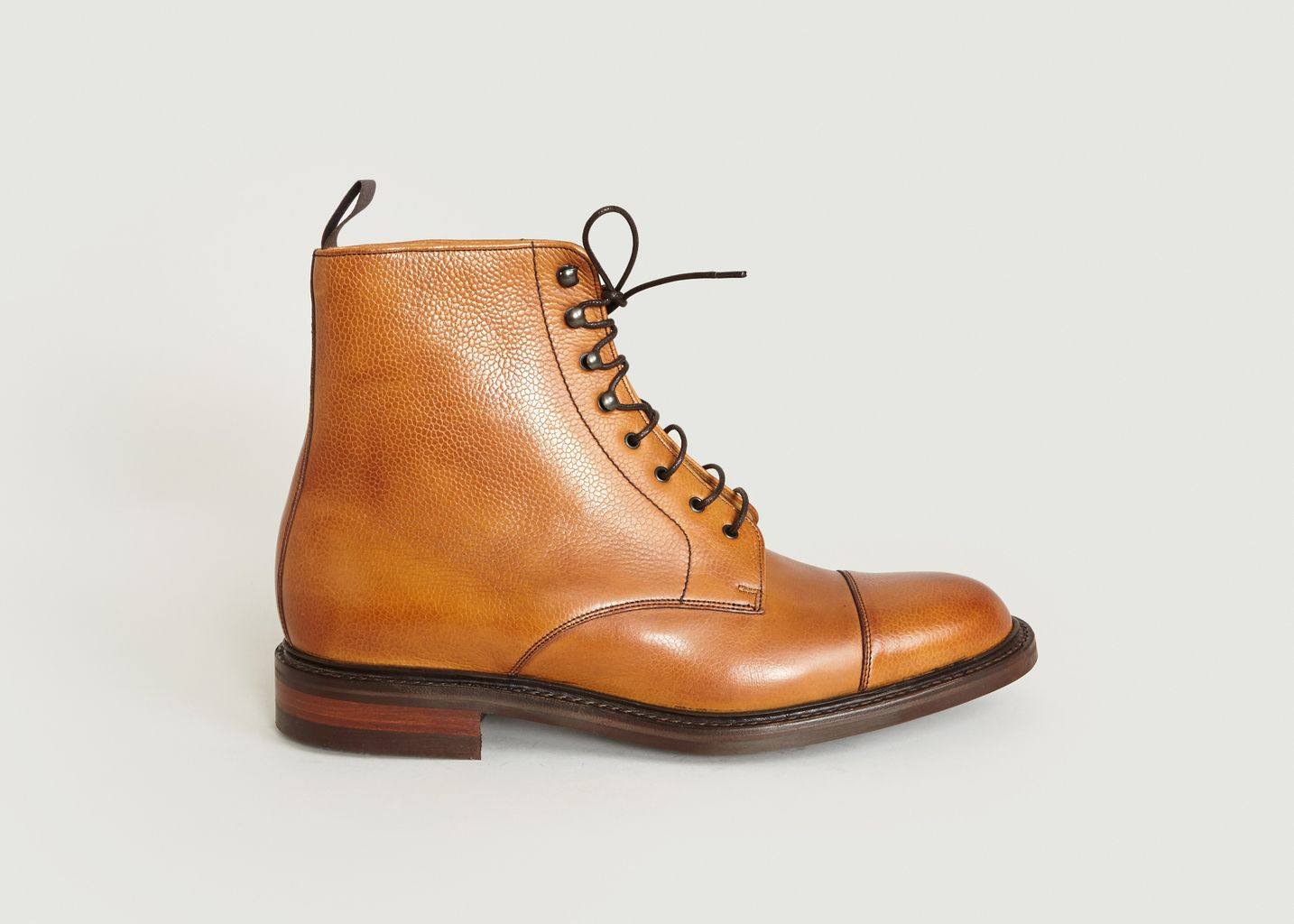 a90e0849ee5 Bottines Lambourn Camel Barker Shoes