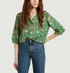 Panama blouse