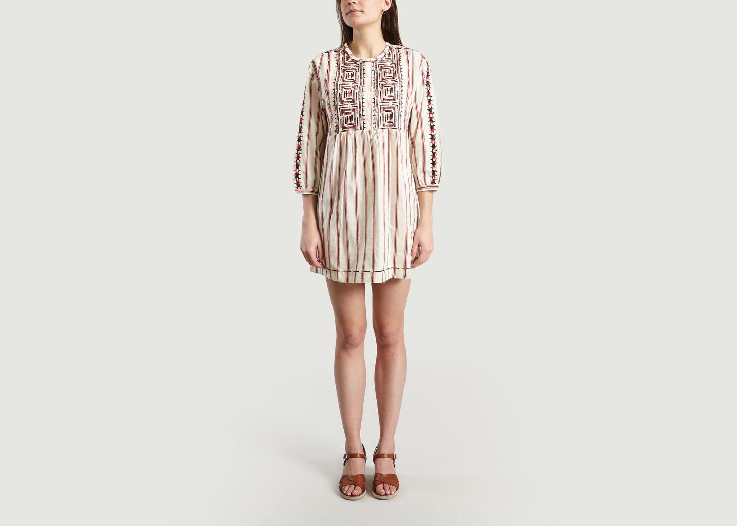 Robe Brodée Rosa - Ba&sh