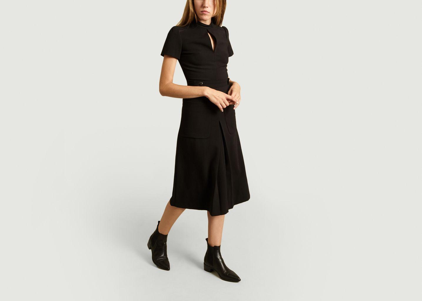 Robe Mi-Longue Manches Courtes Coleen - Ba&sh
