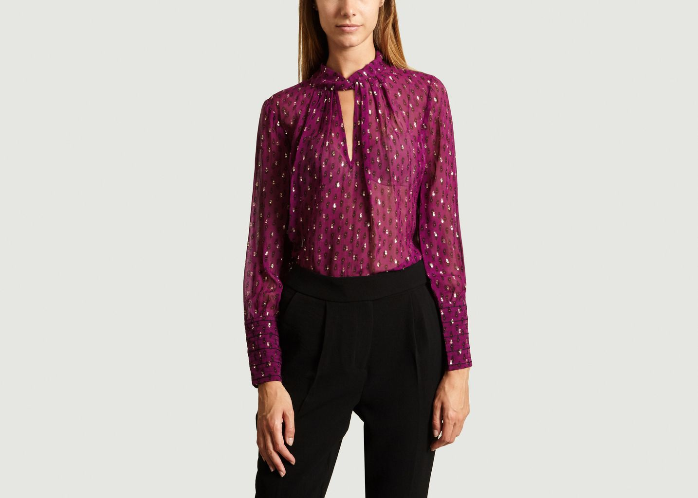 Blouse cabri  - Ba&sh